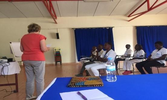 Training  on Pediatric Neurological Rehabilitation  in CCO Rilima