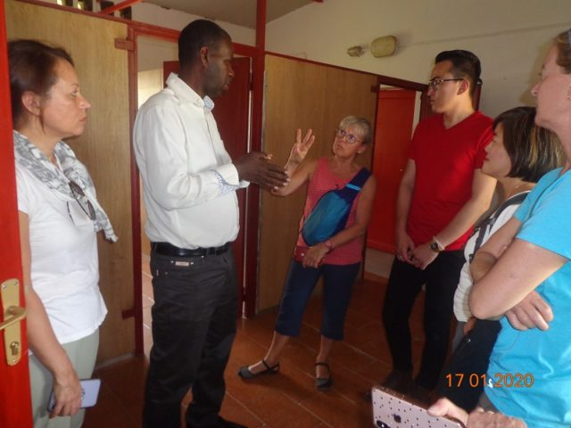 THE DELEGATION OF GLOBAL HEALTH INITIATIVES-CENTURA HEALTH FROM USA VISIT CCO RILIMA