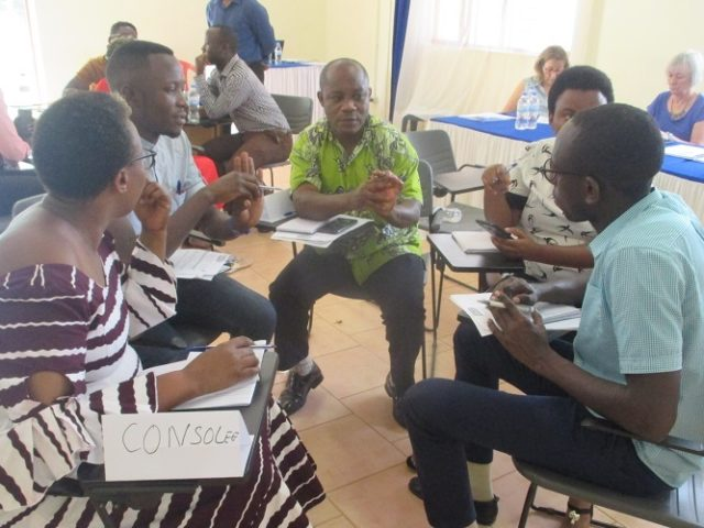 THE 2nd DAY OF TRAINING ON TREATMENT OF CLUBFOOT DEFORMITY IN CCO RILIMA
